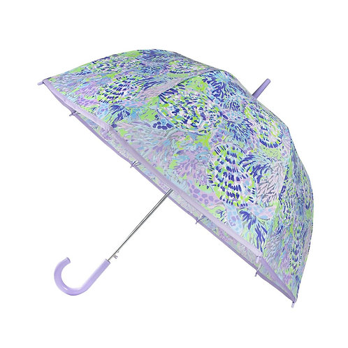 Lilly Pullitzer Clear Umbrella