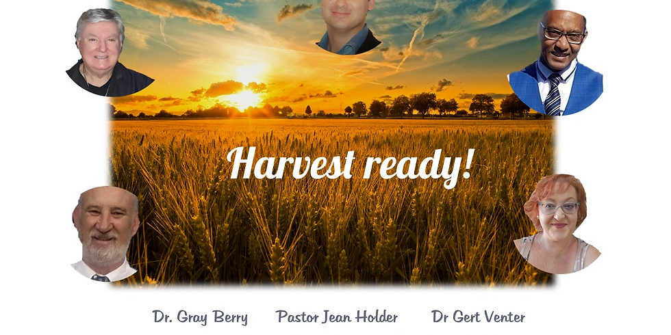 """""""Harvest Ready"""" Easter Conference"""