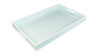 Duck Egg Blue with White- Breakfest Tray