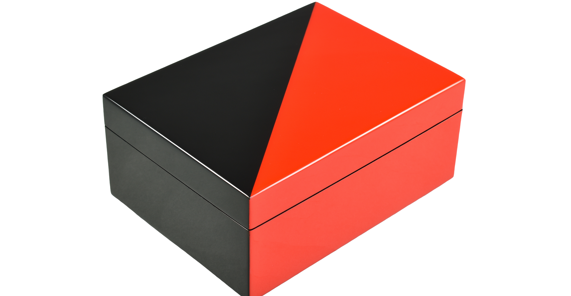 "Red ""N"" Black- Medium Box"