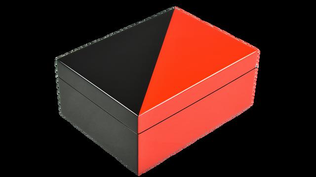 "Red ""N"" Black- Medium Box"