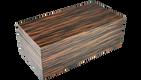 Macassar Ebony- Hinged Box