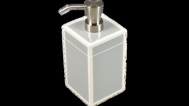 Cool Gray White Trim- Lotion Pump