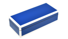 True Blue with White Trim- Pencil Box