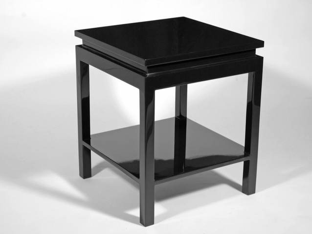 Ming Side Table- Black