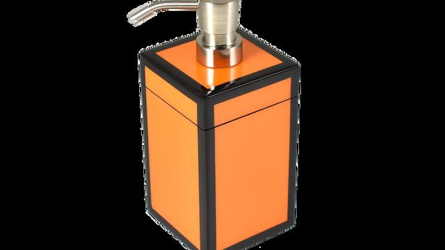 Orange Black Trim- Lotion Pump