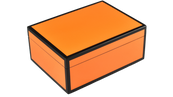 Orange Black Trim- Medium Box
