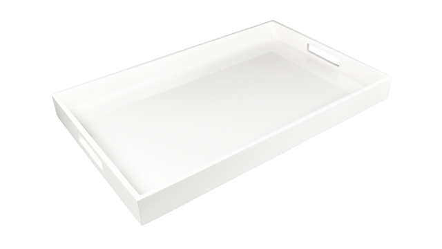 White- Breakfast Tray