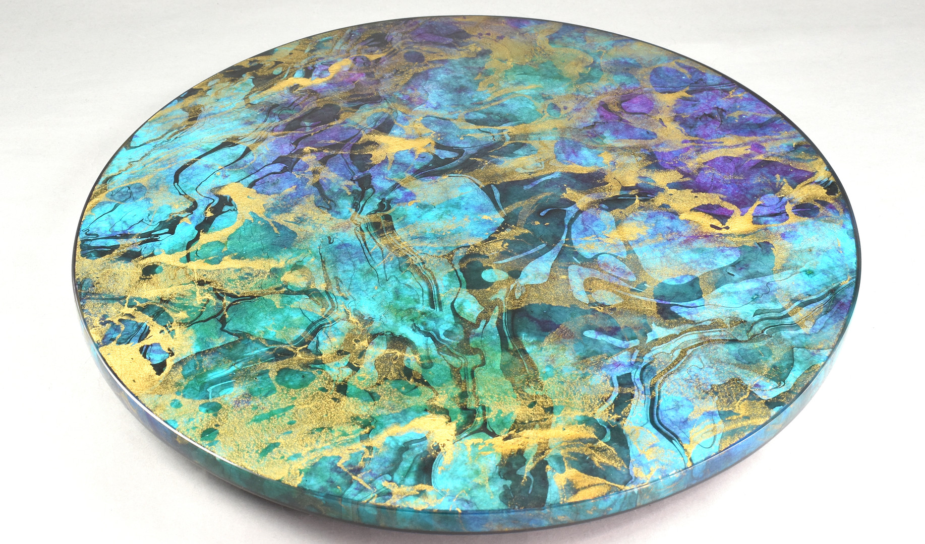 Ocean Blue - Lazy Susan