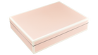 Paris Pink with White Trim- Stationary Box