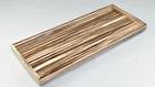 Zebra Wood- Long Vanity Tray