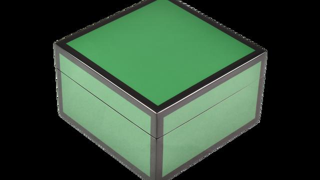 Hunter Green- Square Box
