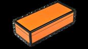 Orange Black Trim- Pencil Box