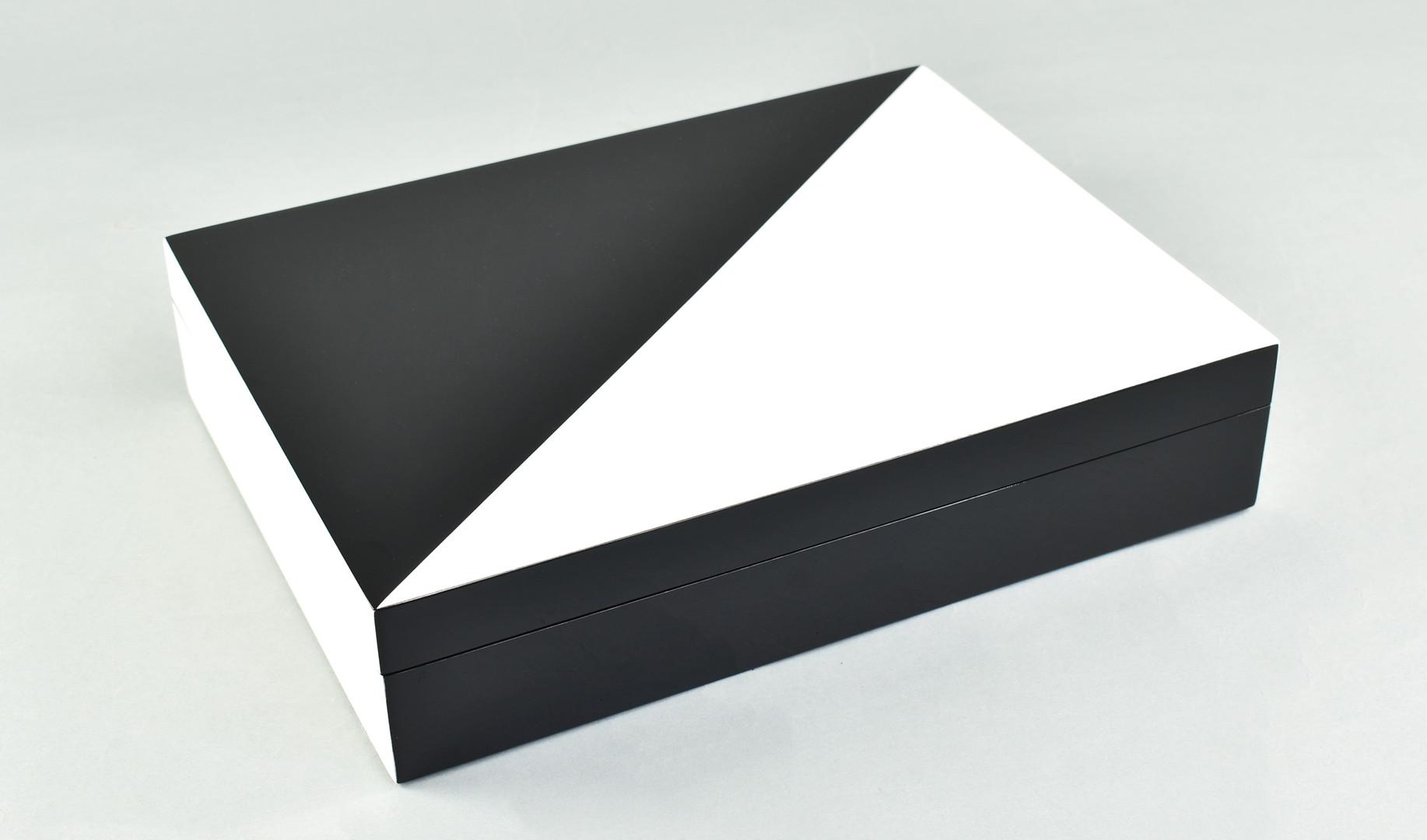 """White """"N"""" Black- Stationery Box"""