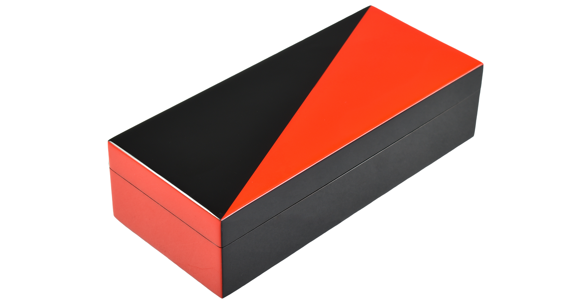 "Red ""N"" Black- Pencil Box"