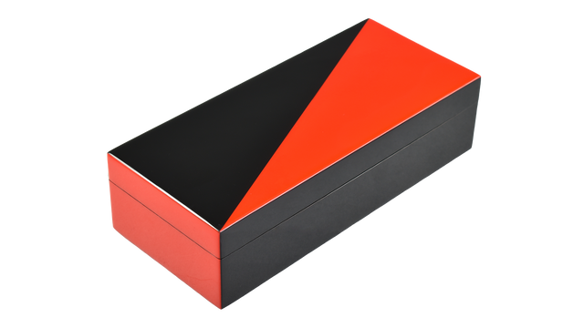 "Red ""N"" Black- Pencil Box"