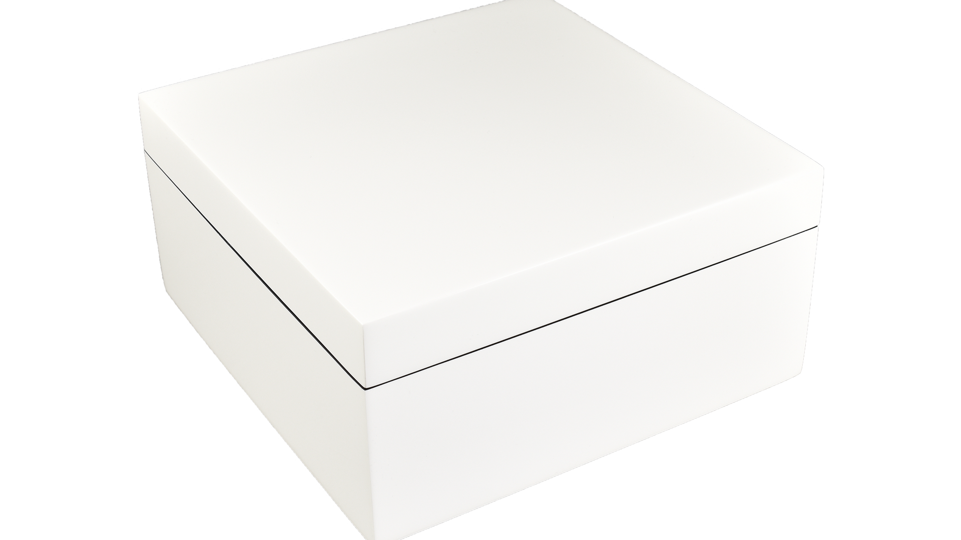 White- Hinged Box