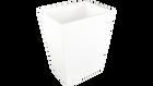 White- Rectangular Waste Basket