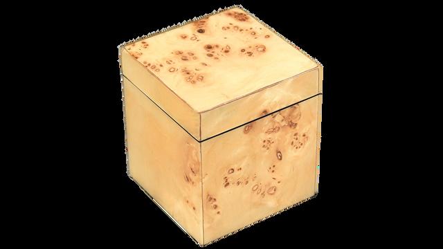 Mappa Burl- Q-Tip Box