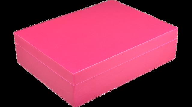 Hot Pink- Stationery Box