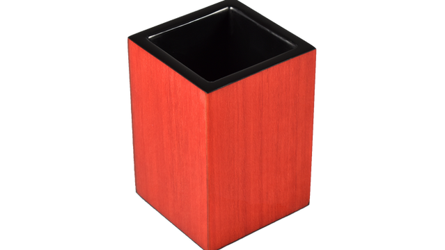 Red Tulipwood- Brush Cup