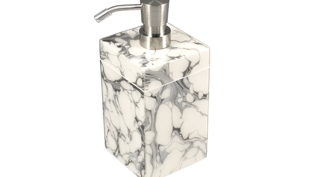 Cream Carrara- Lotion Pump