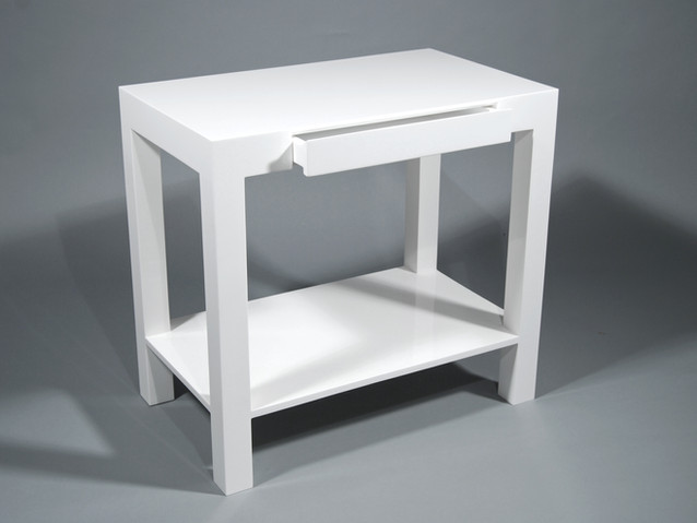 "Lido Console Table 30""L- White"