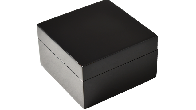 Black - Square Box