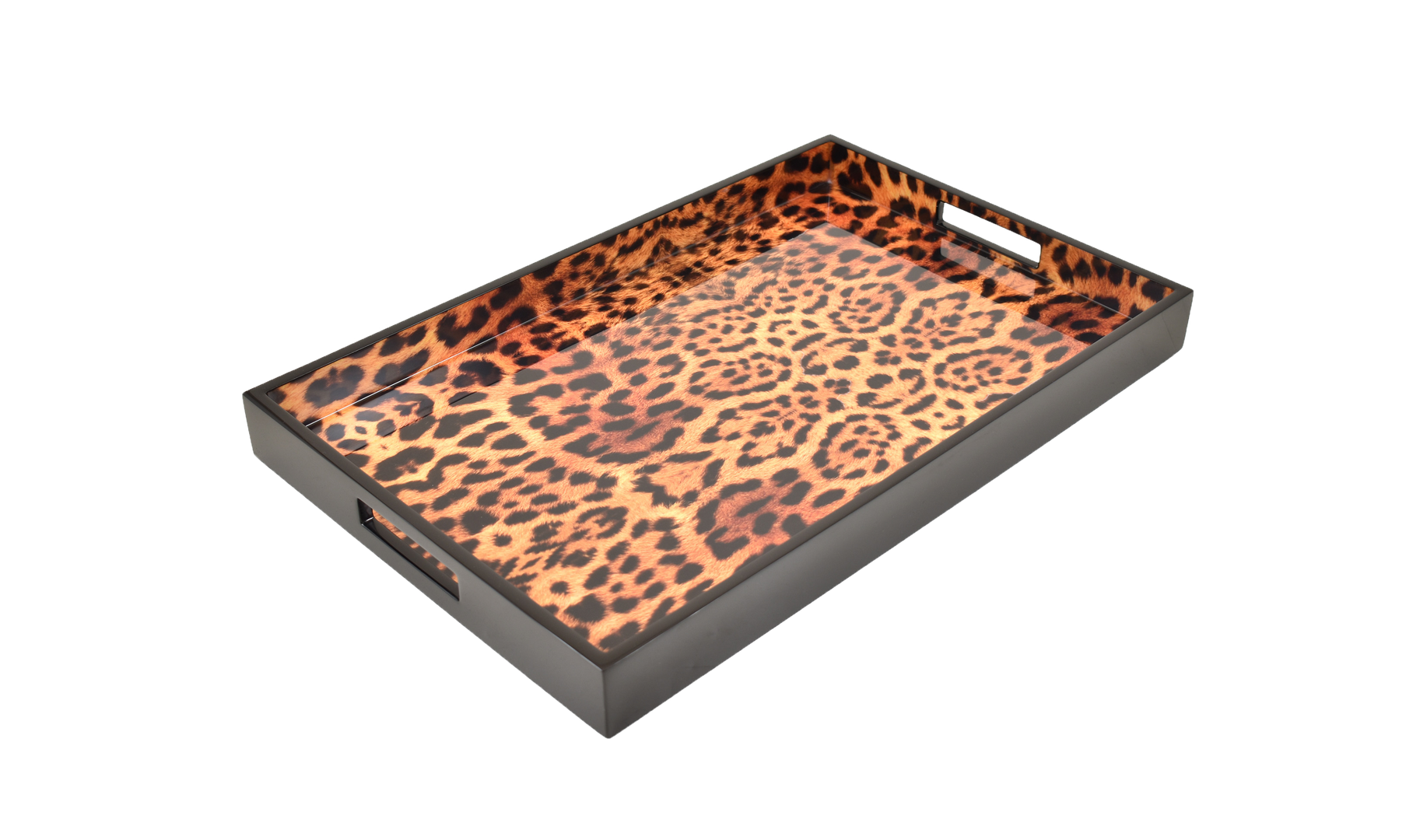 Cheetah- Breakfast Tray