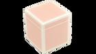 Paris Pink with White Trim- Q-Tip Box