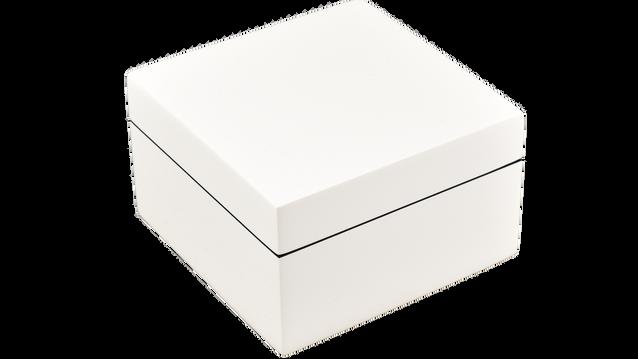 White- Square Box