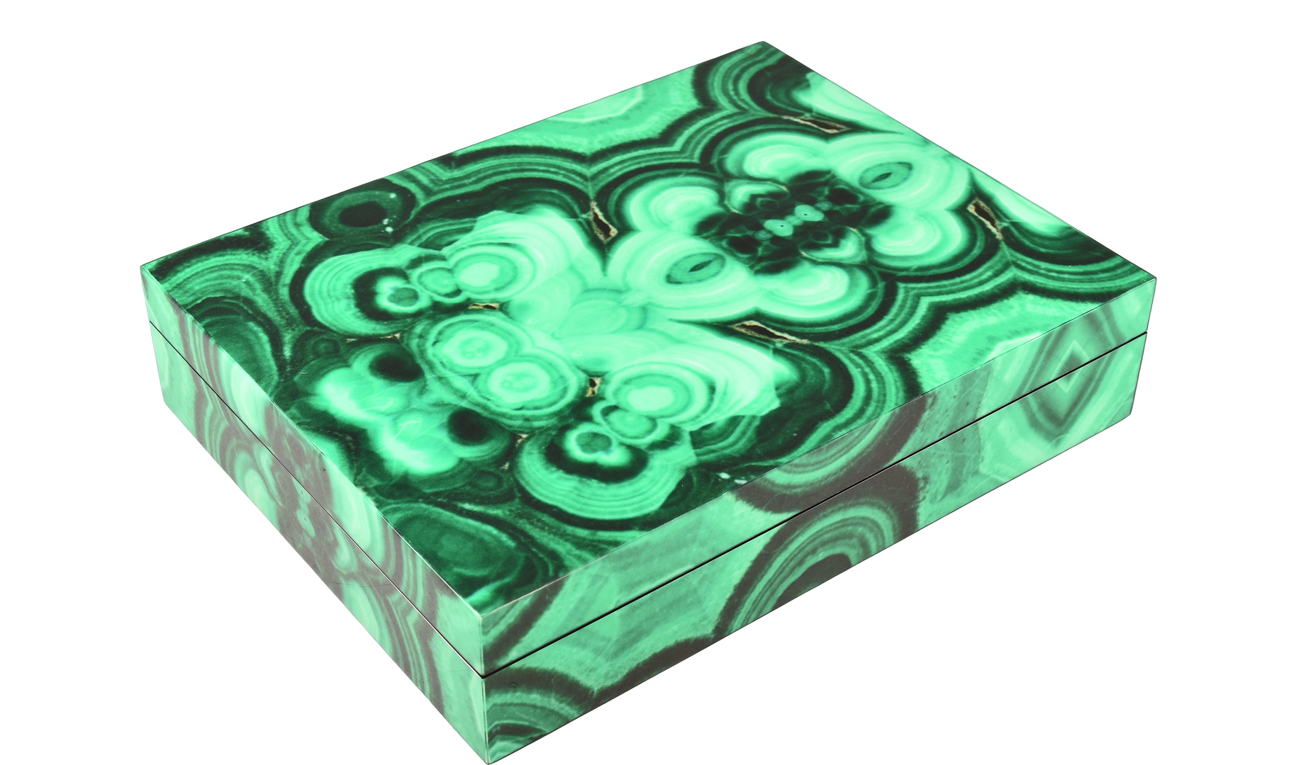 Malachite - Stationery Box