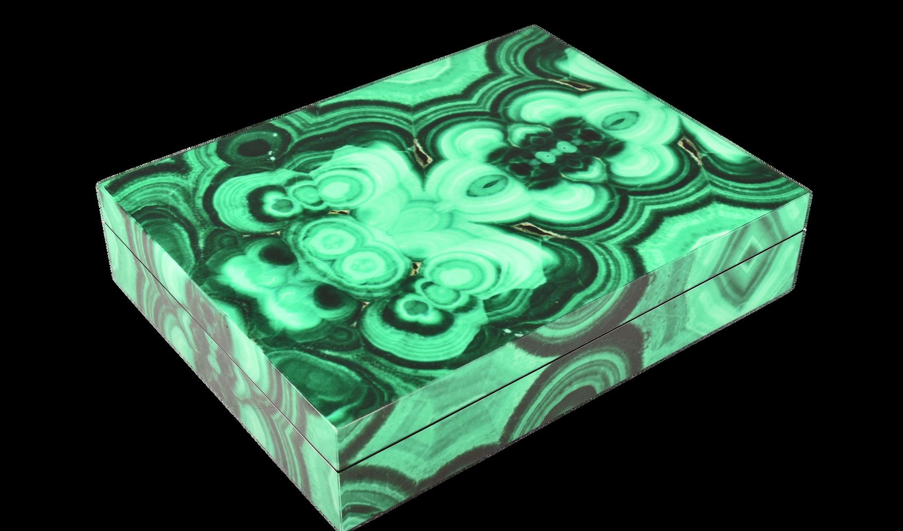 Malachite - Stationery Box