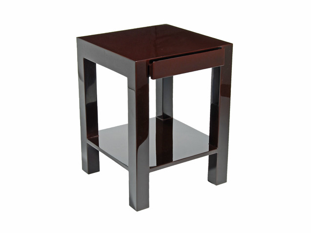 Lindo Side Table- Brown