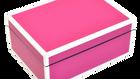 Hot Pink with White - Medium Box