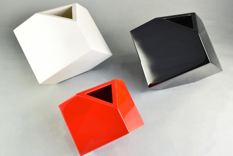 Cube Flower Vases