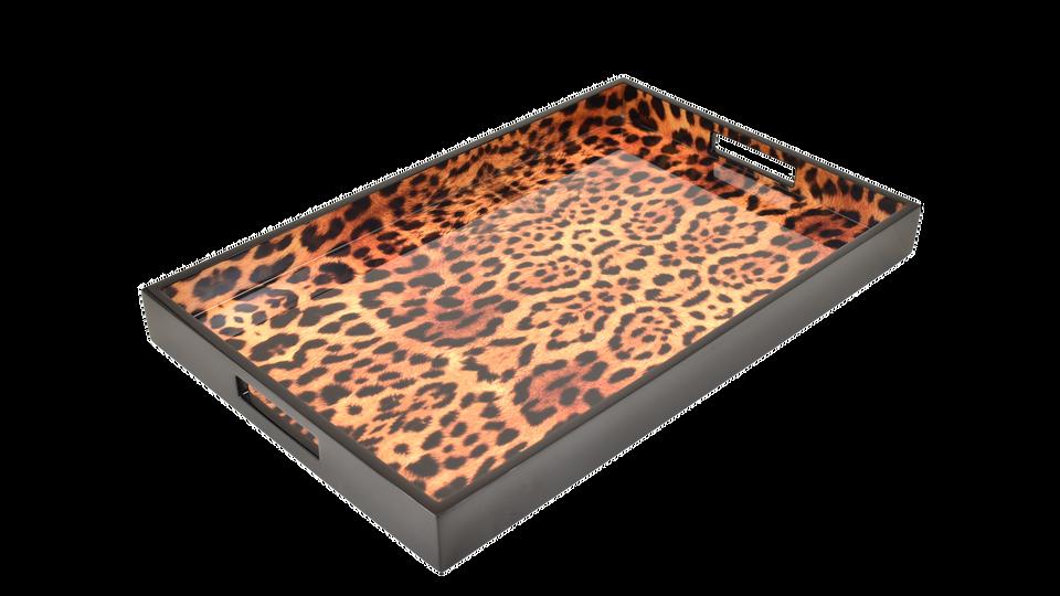 Cheetah- Breakfast Tray