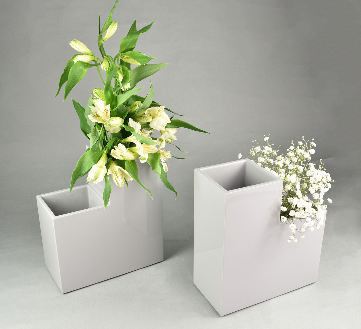 Twin Flower Vases