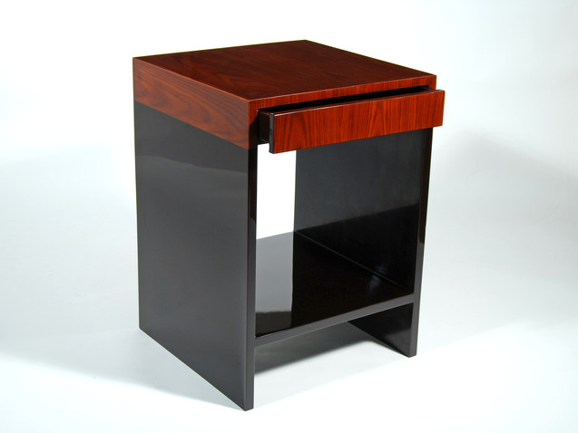 Capri Table- Rosewood Brown