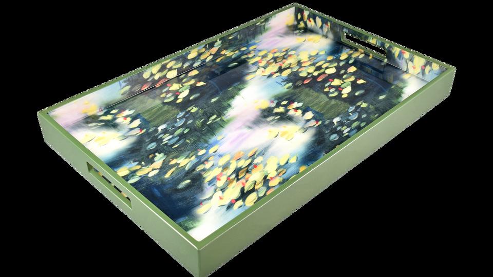 Spring Lillies- Breakfast Tray