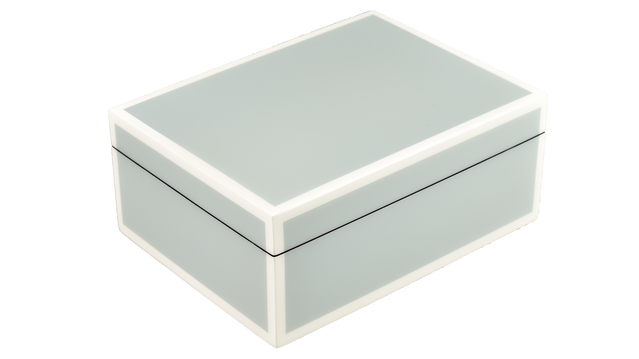 Five Side Cool Gray with White- Medium Box
