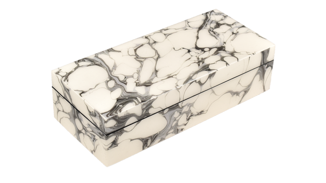 Cream Carrara- Pencil Box
