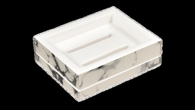 Cream Carrara- Soap Dish