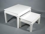 Ming Arch Table (Small)- White