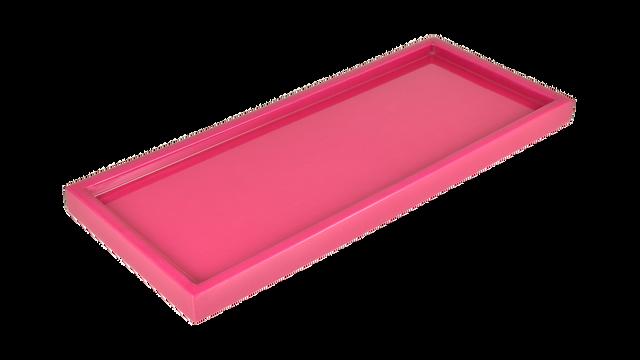 Hot Pink- Long Vanity Tray
