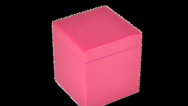 Hot Pink- Q-Tip Box