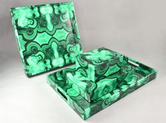 Boxes & Trays - Malachite