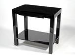 "Lido Side Table 30""L- Black"