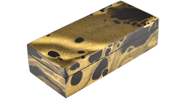 Black Gold Marble- Pencil Box