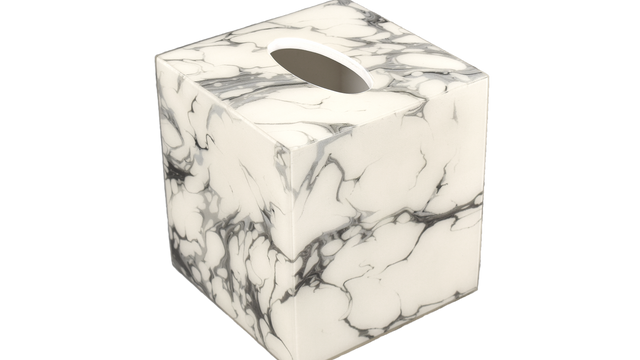 Cream Carrara- Tissue Cover
